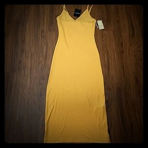 NWT Basic Knit Dress - Marigold Color